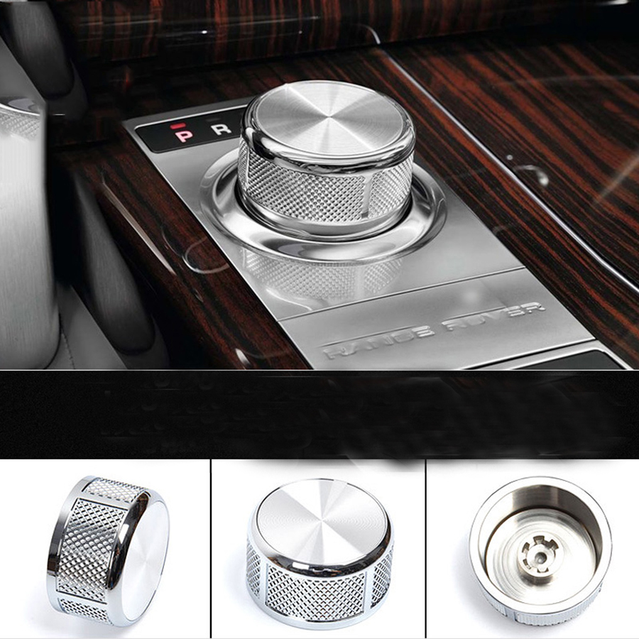 Gear Shift Knob Trim For Land Rover Discovery 5 2017 For Range Rover Vogue Accessories Car Styling