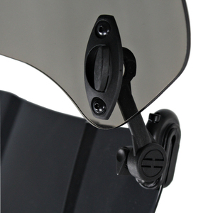Image 3 - Universal Motorcycle Windshield Extension Spoiler Air Wind Deflector Moto Riser Windscreen For BMW Honda Scooter Accesssory