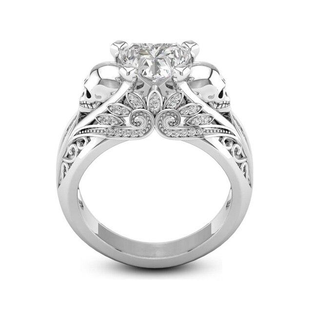 brixini.com - The Double Skull Rings