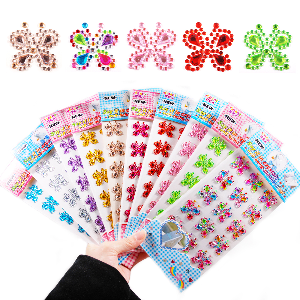 5 Sheets 3mm Crystal LQ01 Triangle Self Adhesive Acrylic Rhinestones Plastic Face Gems Stick On Body Jewels for DIY Cards and Invitations Crafts Bling Sticker 500PCS