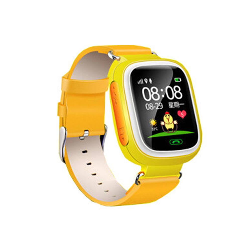 New Anti-lost GPS Locate Monitor Children Smart Watch Phone Kids Sports Wearable Pedometer Support SIM Card For Android/IOS