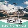 X580 новый самокат крепкий легкий высота самокаты регулируемые алюминиевые сплав t-стиль складные Взрослые Ноги скутеры