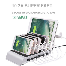 Multi Port Fast Charging USB Phone Charger for all phones