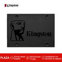 Kingston Technology A400, 240 GB, 2.5'', Serial ATA III, 500 MB/s, 6 Gbit/s Discos duros solidos internos SSD Color Negro