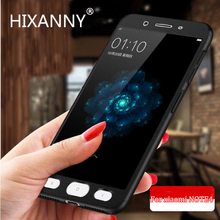 Hard Shockproof 360 Protection Luxury Case full Cover For Xiaomi Redmi NOTE 4 4X  PC 360 For Redmi NOTE 4X Pro Phone Cases shell