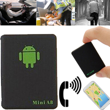 Mini A8 Tracking Device LBS Tracker Global Real Time GSM GPRS LBS With SOS Button for Cars Kids Elder Pets Locator Finder