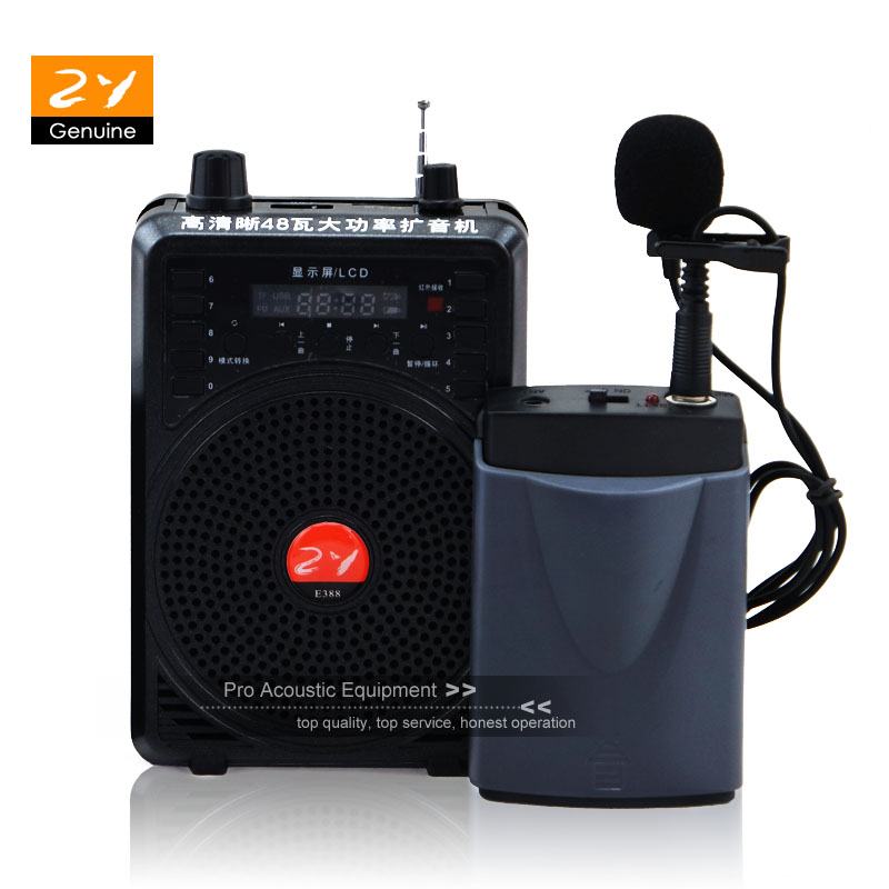 Humor 48w High Power Special Amplifier For Teacher Tour Guide External Voice Lound Speaker Wireless Microphone Support U Disk/tf Card Careful Calculation And Strict Budgeting
