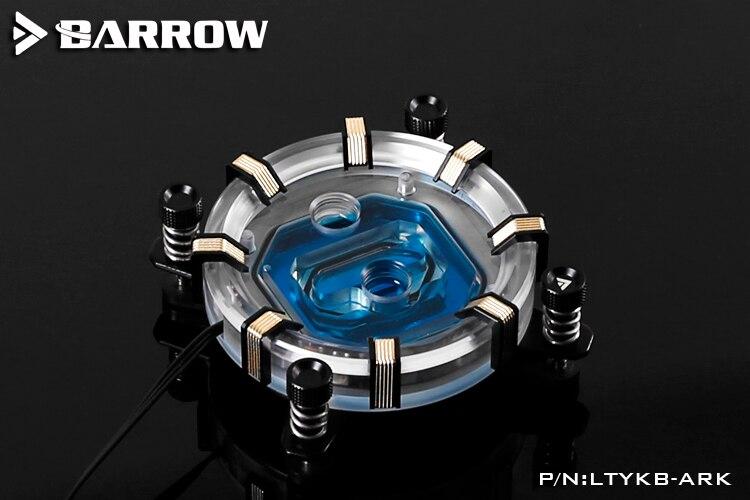 Brouette LTYKB-ARK LRC2.0 RGB CPU bloc de refroidissement par eau pour Intel 115x
