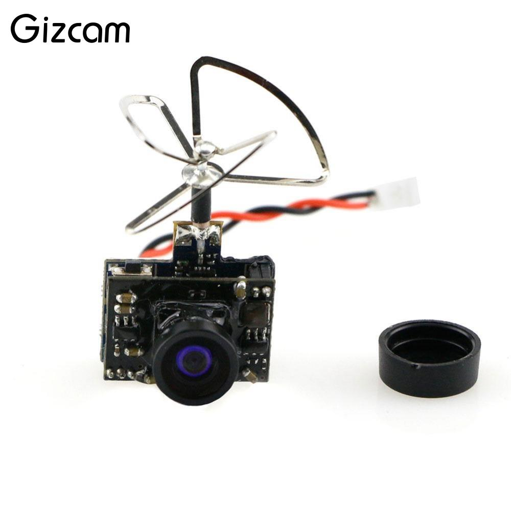 Gizcam 3 in1 03 5.8GHz RC Black Metal Threeleaf Intersection FPV Shaped Camera Lens Antenna