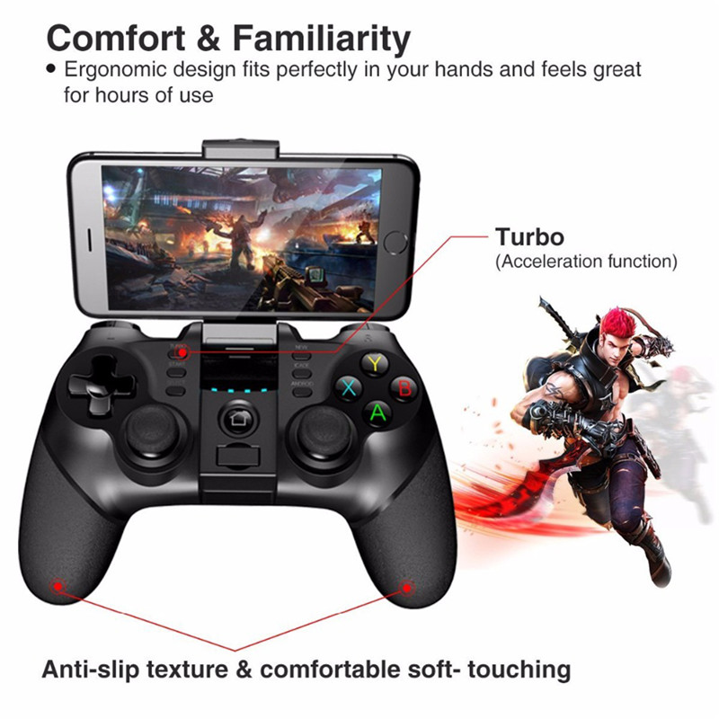 iPEGA 9076 Gamepad for PS3 Bluetooth Game Pad for Playstation 3 Joystick Android Wireless Controller Android Phone Tablet Tv Box 4