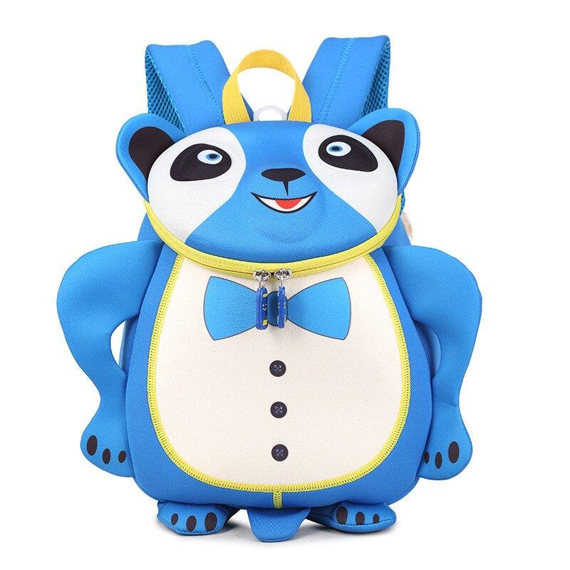 Fashion 3D Kindergarten Girls Boys Backpack School Bags Cartoon Bear Baby Book Bag For Gift Kids Satchel Mochila Escolar