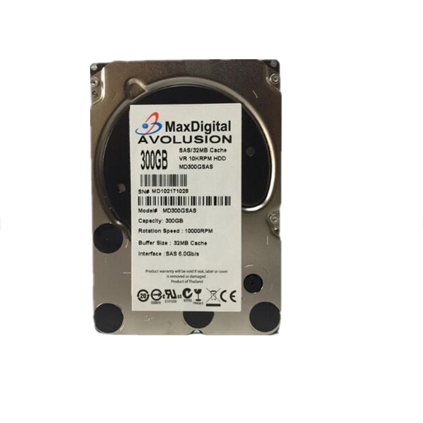 300GB 10K SAS 6Gb/s 2.5inch Internal Enterprise Hard Drive Server HDD Warranty 1-year server hard drive 300gb 10k sas 2 5 507119 004 507284 001 dl380g5g6 dl580g5 one year warranty
