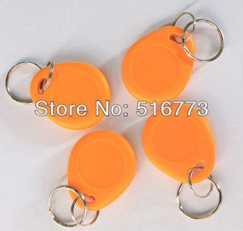 High quality RFID 125KHZ, ID Keychain Card for  access control & Time attendance GB-KF005, 100pcs/bag
