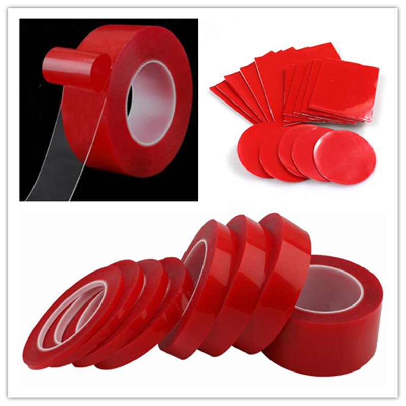 Multiple sizes Household Wall Hangings Adhesive Glue Tapes Transparent Double Sided Tape Car Sticker Auto Adhesive Tape in Tape from Home Improvement