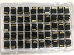 Image 3 - ترقية!!! 100 قطعة/الوحدة 64MB TF بطاقة TransFlash بطاقة 64MB بطاقة تخزين صغيرة مع محول بطاقة SD