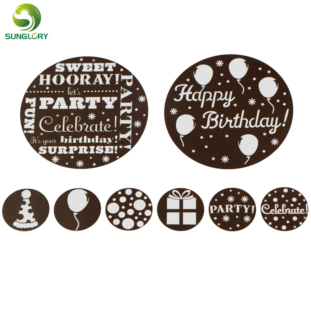 EDIBLE WAFER RICE PAPER BLACK LACES CAKE BIRTHDAY ANNIVERSARY ENGAGEMENT 120CM H