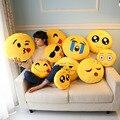 2016 Hot Sales Emoji Expression Cushion Pillow Cute Cartoon Stuffed Toys Birthday Gift Christmas Gift Funny Gift Kids Girlfriend
