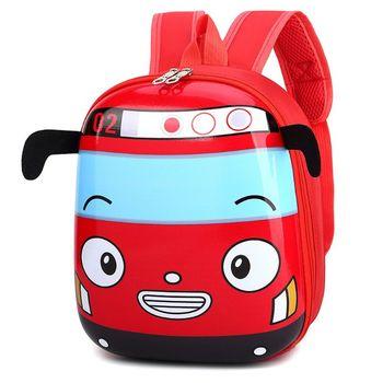 Cute Favorable Schoolbags Children Kid's Cartoon 3D Car Shape School Backpack Kindergarten Bookbag for Boys Girls Child's - discount item  21% OFF School Bags