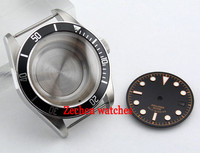 Goutent Sapphire 41mm watch Case + dial fit Miyota8205/8215,ETA 2836 Mingzhu 2813 watch accessories