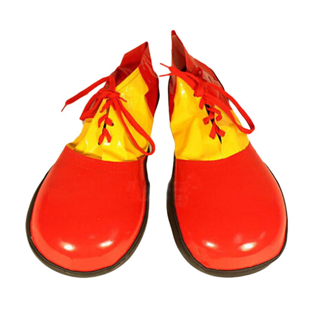 Clown Shoes Boots Dress Adult Clown Shoes for Masquerade Halloween Costume Party