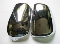 ABS Chrome Rearview mirror cover Trim/Rearview mirror Decoration For 2010 2013 Mitsubishi Lancer/Lancer X/Lancer Evo