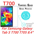 """9H 2.5D 0.3MM Explosion-Proof Toughened Tempered Glass For Samsung Galaxy Tab S T700 T705 8.4"""" Film Clear Screen Protect Cover"""