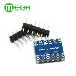 Image 3 - 100PCS IIC I2C Logic Level Converter Bi Directional Modul 5V zu 3,3 V