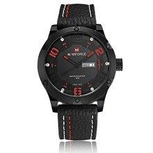 Relogio masculino 2016 Nueva Top Marca de relojes de Moda Reloj de Cuarzo Deporte Militar Relojes Hombres Lujo de la Marca Correa de Cuero Hombres Reloj