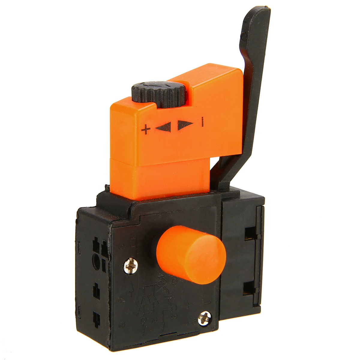 New AC 250V Adjustable Speed Switch <font><b>FA2</b></font>-<font><b>4</b></font>/<font><b>1BEK</b></font> Lock on Power Speed Control Trigger Switch For Electric Hand Drill image