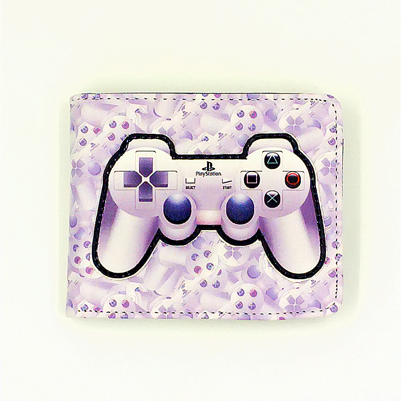 3D Game Wallet Playstation Handle Cardholder Short Wallet With Zipper For Boy Girl Cool Gift PS Wallet