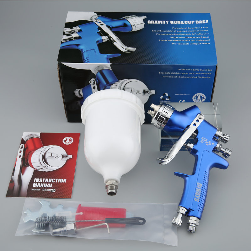 Wholesale and retail professional spray gun LVMP car paint gun painted high efficiency good atomization pneumatic