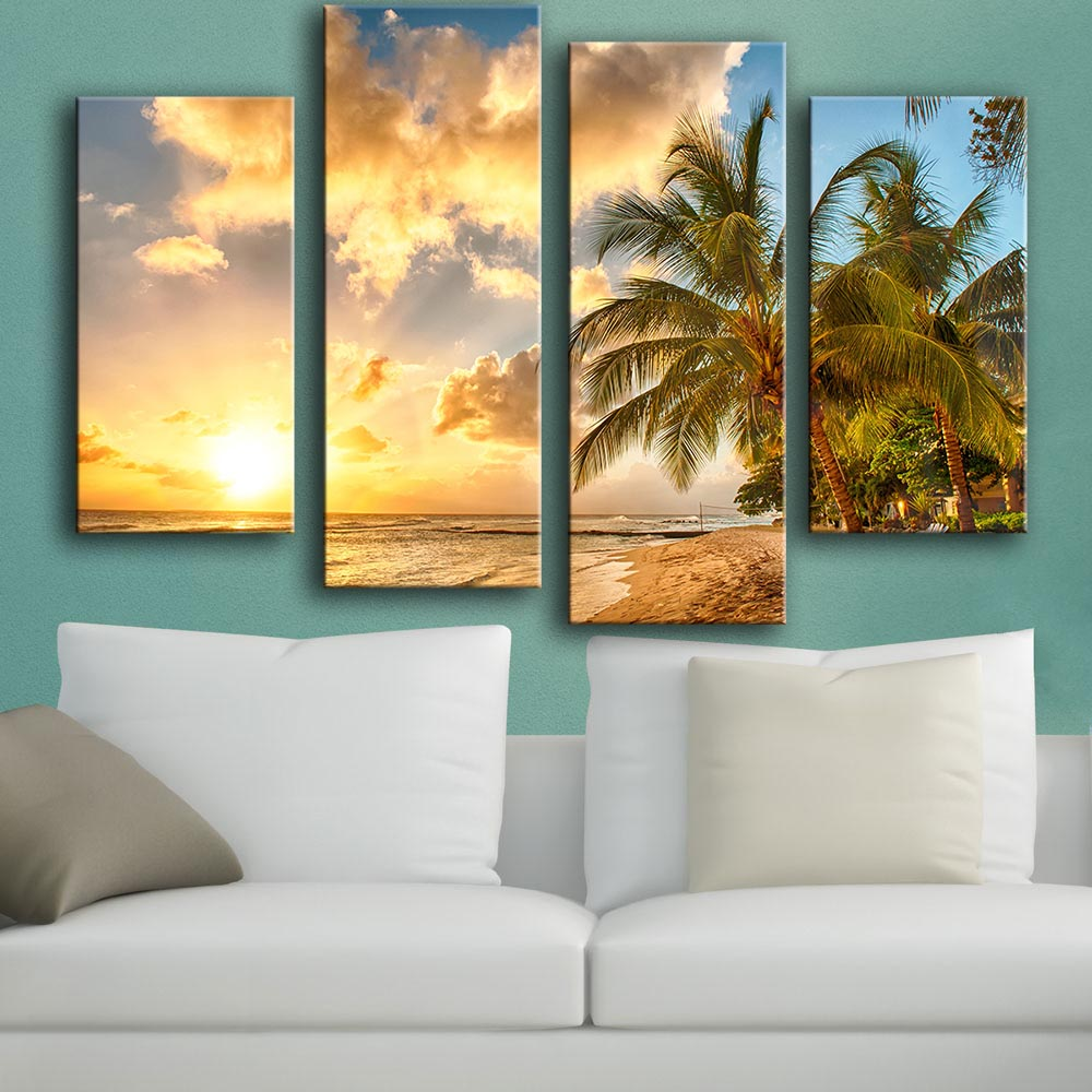 Wall Art Paintings For Living Room Online Get Cheap Tropical Wall Art Aliexpresscom Alibaba Group
