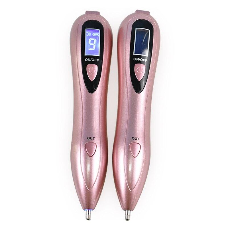 Professional Beauty Remove Spots Pen LCD Laser Plasma Pen  Ion Spotlight Skin Dark Spot Remover Mole Tattoo Removal Machine