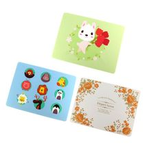 Placemats BPA Free Silicone Table Mat Baby Kids Feeding Tableware Pad Cartoon Dining Plate  food storage box