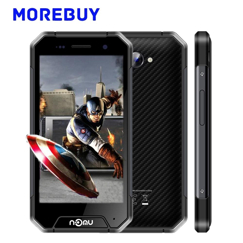 "NOMU S30 mini 4G LTE Smartphone IP68 Waterproof MTK6737T Quad Core 3G RAM 32G ROM Android 7.0 Mobile Phone 4.7"" HD 3000mAh 720P"