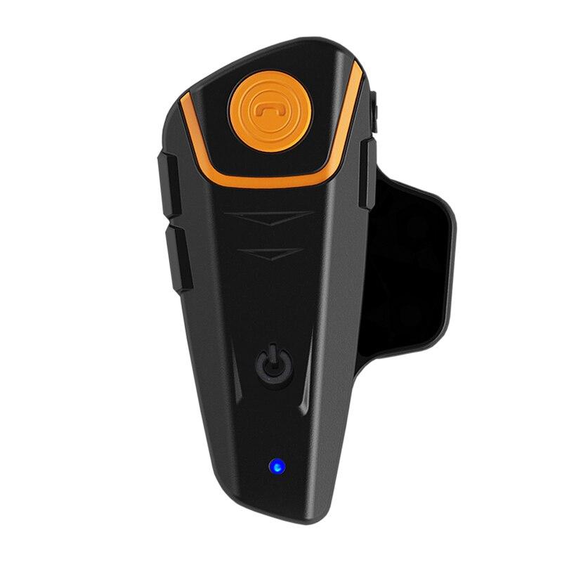 Dbigness Waterproof 1000M Motorcycle Intercom Wireless Bluetooth Interphone Helmet Headset BT-S2 With FM Radio bt s1 1000m interphone bluetooth motorcycle motorbike helmet intercom headset fm radio