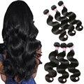 7A Grade Brazilian Virgin Hair Body Wave 3 Bundles Brazilian Body Wave Mink Brazilian Hair Weave Bundles Human Hair Extensions