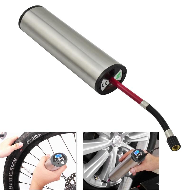 150PIS High Pressure Electric Bicycle Pump LED Light Multifunctional Automatic Inflator for Motorcycle MTB Bike Accessories cxa l0612 vjl cxa l0612a vjl vml cxa l0612a vsl high pressure plate inverter