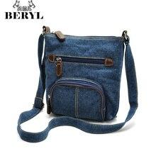 Heißer Verkauf Denim frauen Umhängetaschen Leinwand Frauen Messenger Bags Handtaschen Vintage Mädchen Tasche Mode Satchel Bolsas Femininas #31