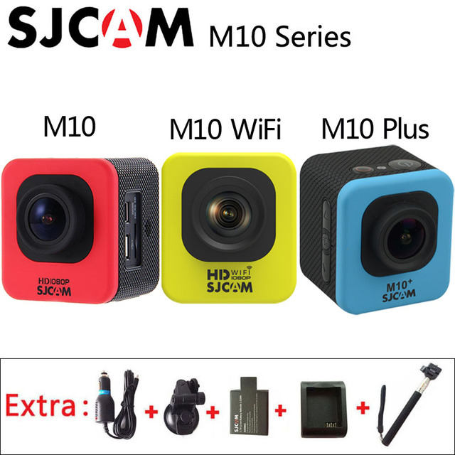 Original SJCAM M10 / M10 Wifi / M10 Plus 2K Sport Action Camera 30M Waterproof Camcorder 1080P HD Underwater SJ Cam Sports DV