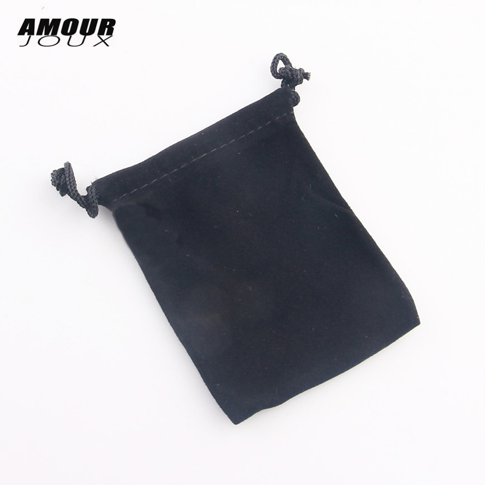 1 PC Black Velvet 7*9cm Ring Earrings Bracelet Necklace Bag Display Packaging Gift Pouch