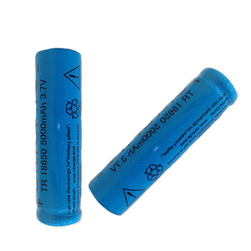 Image 3 - 2pcs The strong light flashlight rechargeable lithium battery 3.7V 18650 5000mAh lithium battery-in Portable Lighting Accessories from Lights & Lighting