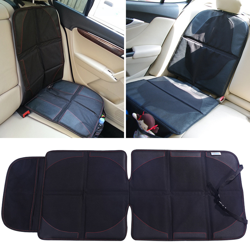 New Black Auto Car Seat Back Protector Cover Children Kids Babies Kick Protects