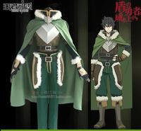 Tate no Yuusha no Nariagari Naofumi Iwatani Cosplay Costume The Rising of the Shield Hero Cosplay Suit Cover Cloak