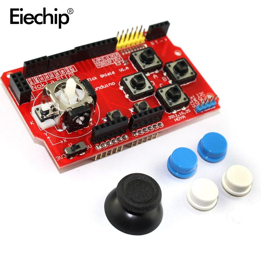 Fedele Gamepad Joystick Tastiera Shield Per Arduino Nrf24l01 Nk 5110 Lcd I2c