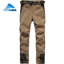 New Windbreaker Thermal Softshell Outdoor Pants Women Climbing Hiking Trousers Trekking Camping Water Resistant Pantalones Mujer