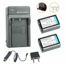 Aopuly 2 шт. np-fw50 np fw50 камера аккумулятор + автомобильное зарядное устройство для sony A5000 A5100 A7 A7R A6000 5 Т 3N 5C NEX5TL NEX6 NEX7 NEX5R NEX5N