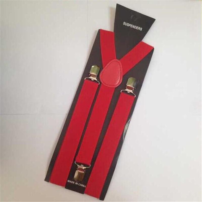Hot Casual Multicolor Men Women Clip-on Suspenders Elastic Y-Shape Adjustable Braces Unisex Fashion Accessory Good Quality Gifts