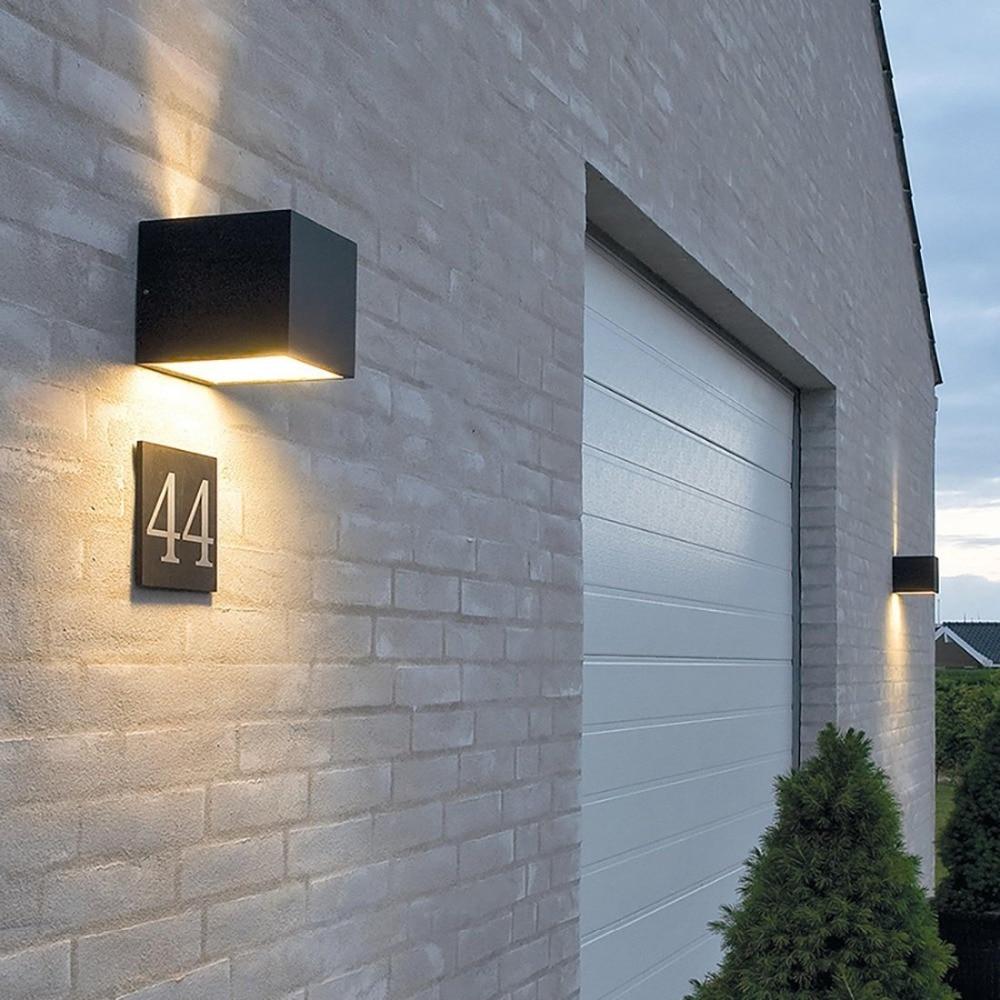 A prueba de agua al aire libre IP65 Aplique Moderno Lámpara de Pared - Iluminación exterior - foto 5