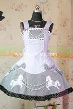 Light Purple Japanese Sleeveless Sweet Lolita Dress Embroidery JSK Bead Chain Cotton Dress